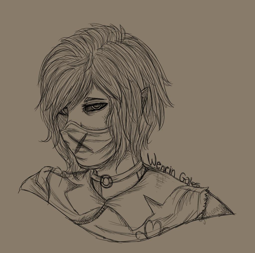 [Sketch] Wenrin by Gothamed