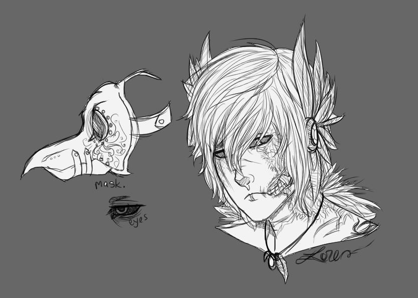 [Sketch] Lorebird by Gothamed