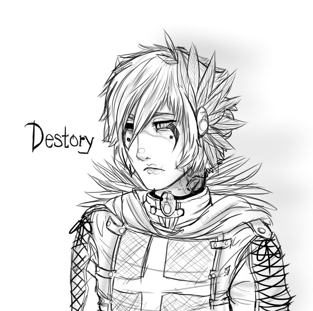 [Sketch] Destory by Gothamed