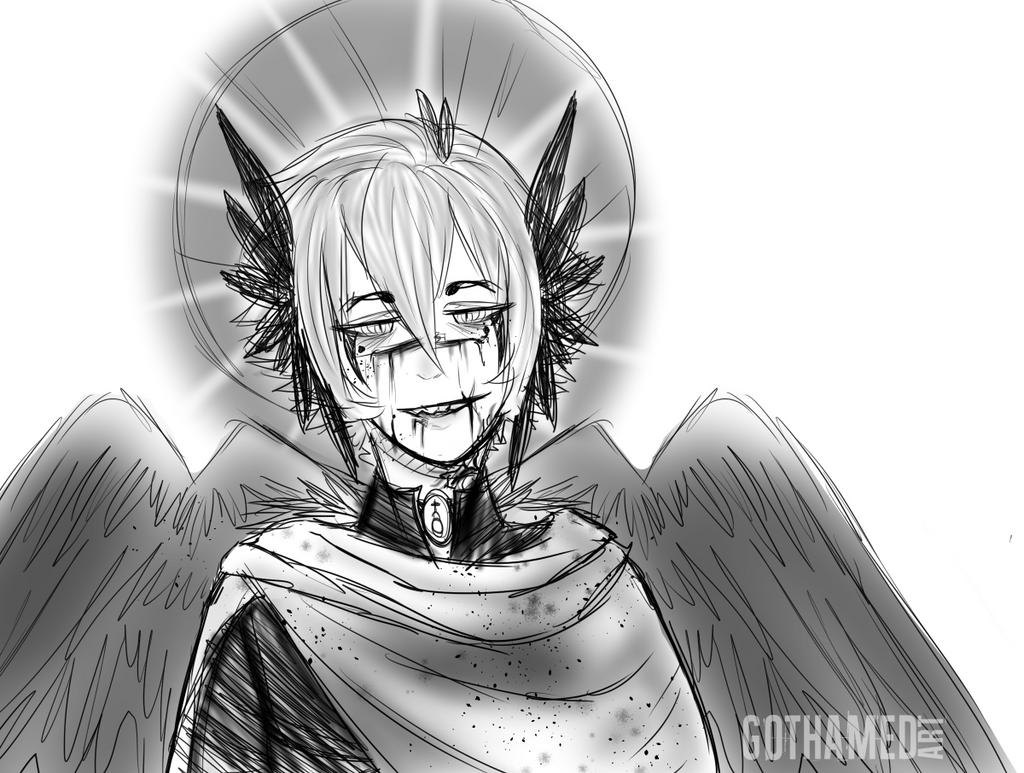 [Sketch] Antihero by Gothamed