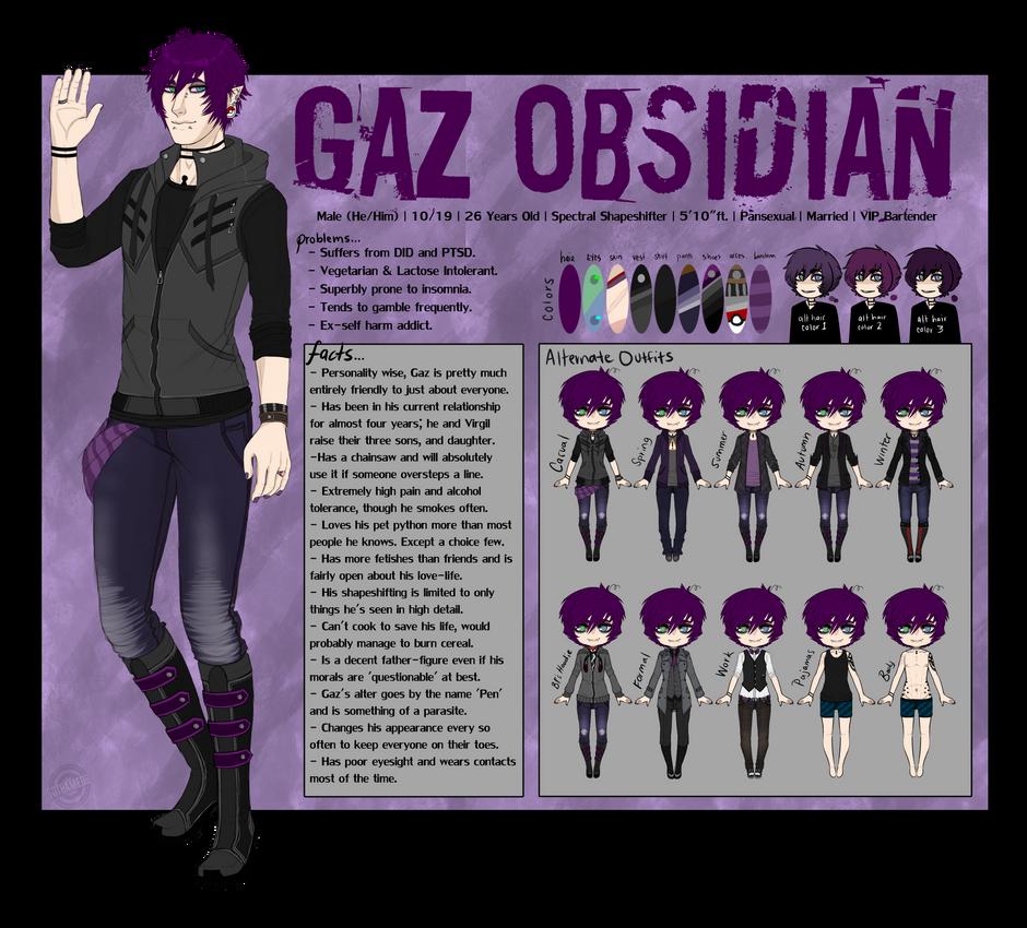 [Ref] Gaz Obsidian by Gothamed