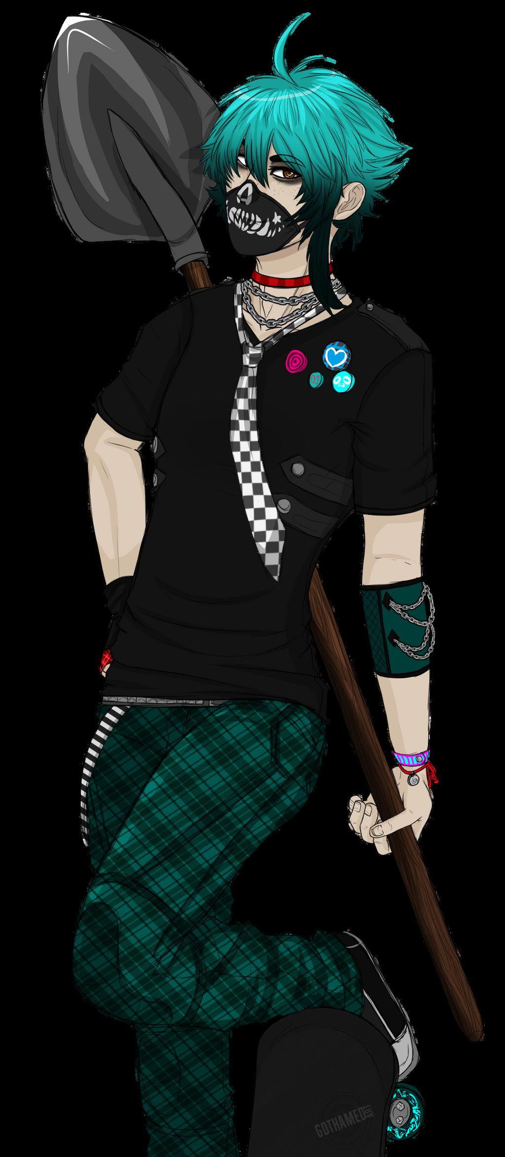 [CM] Rikuto by Gothamed