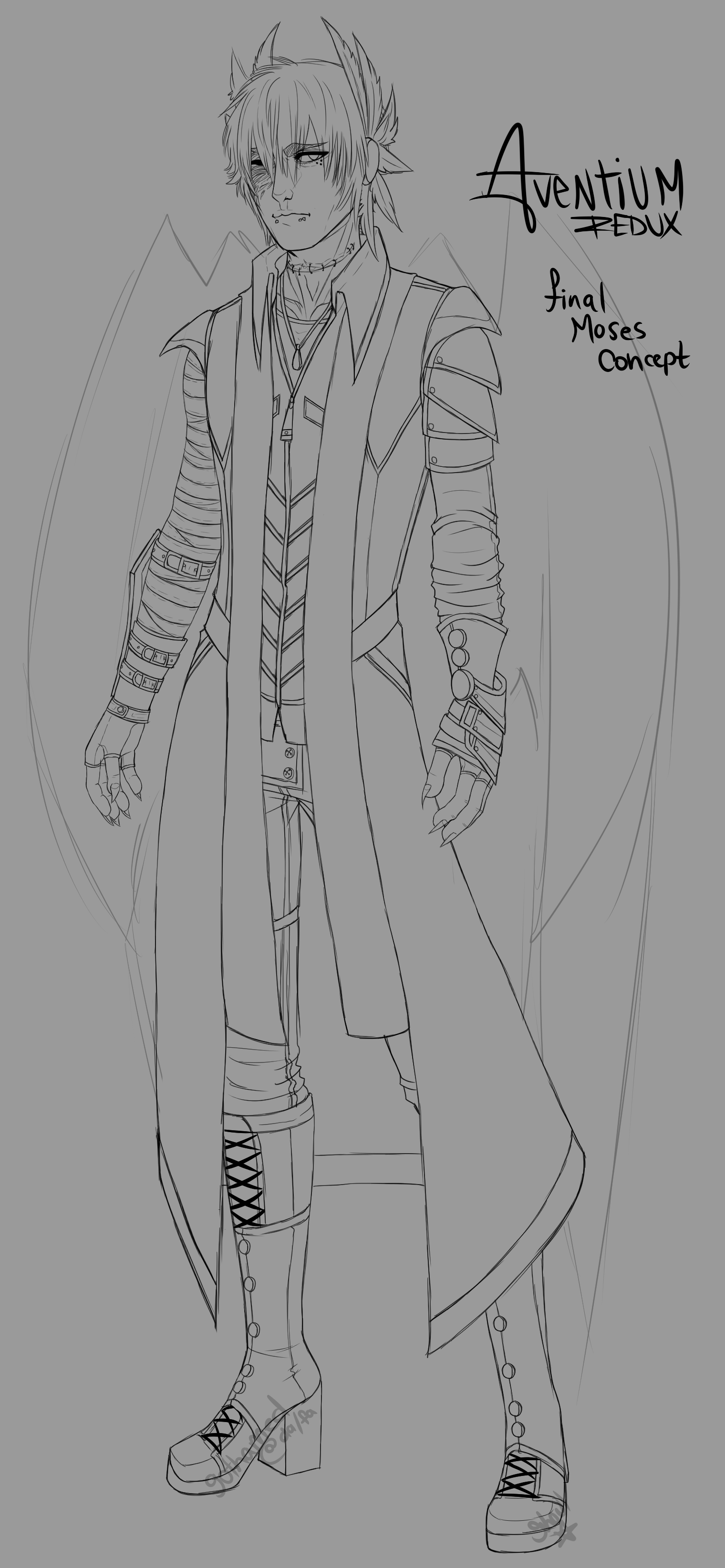 [Concept] Moses by Gothamed