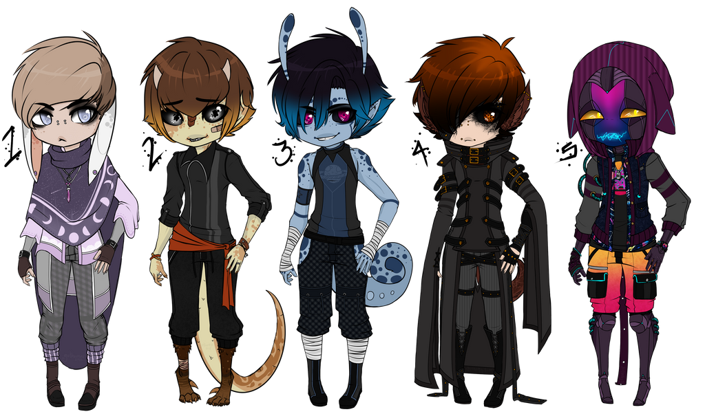 [PENDING] Mixed Fashions by Gothamed