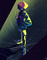Spider-Man into the Spider Verse by AzouraArt