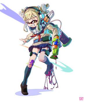 Himiko Toga x Splatoon