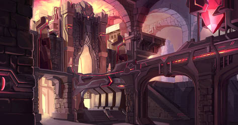 Fortress by AzouraArt