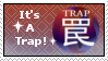 It's A Trap! Stamp by JuliusMabe