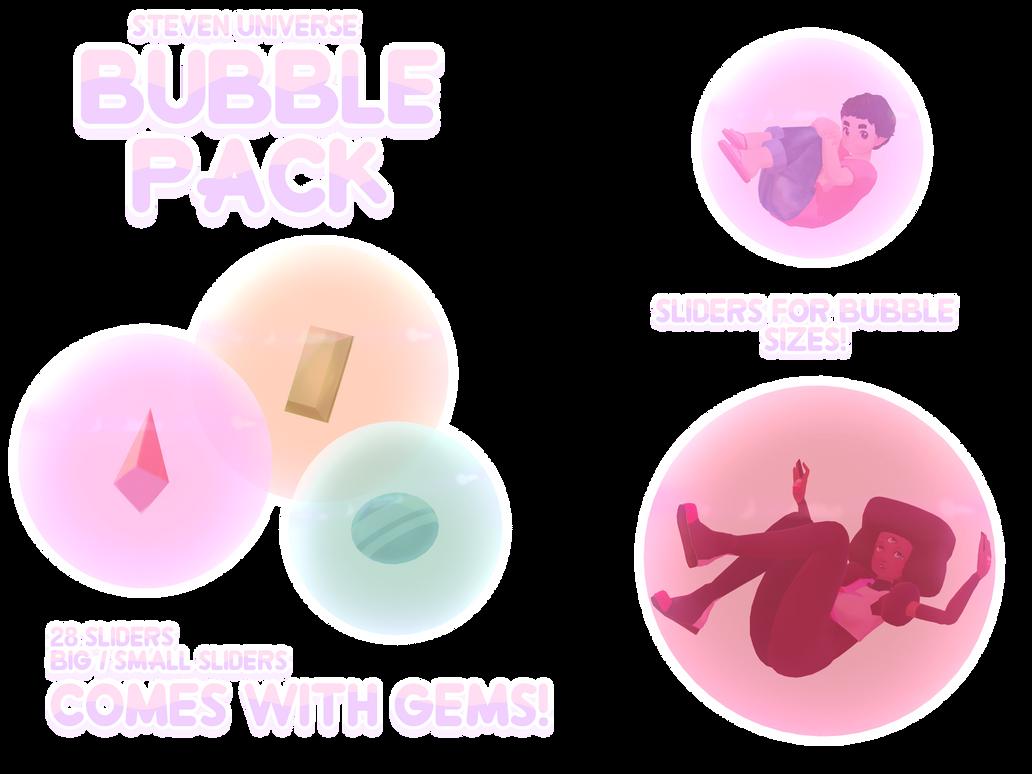 Mmd Steven Universe Gem Bubble Pack Read Desc By