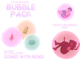 MMD Steven Universe Gem/Bubble Pack [READ DESC.!!] by JoeySandbag