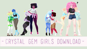 FASHION SERIES - Crystal Gem Girls [DOWNLOAD]
