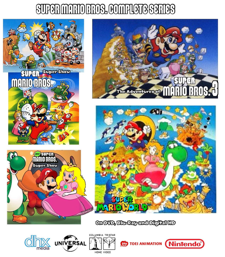 Super mario bros super show series poster by joshuat1306 for Columbia craft show 2017