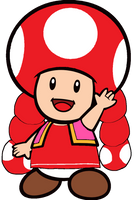 Super Mario: Toadette 2D by Joshuat1306 on DeviantArt
