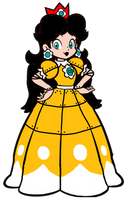 Super Mario: Daisy Super Show Robot 2D by Joshuat1306