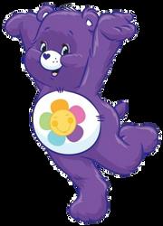 Care Bears: Harmony Bear 2D by Joshuat1306