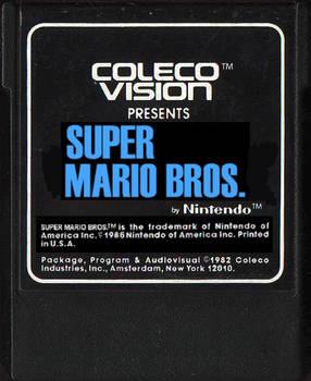 Super Mario Bros. Colecovision Cartridge