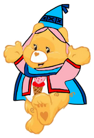Care Bears: Treat Heart Pig Princess Outfit 2D by Joshuat1306