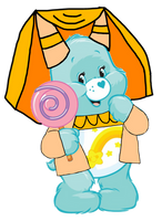 Care Bears: Wish Bear Princess Outfit 2D by Joshuat1306