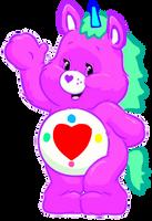 Care Bears: Magic Heart Unicorn 2D