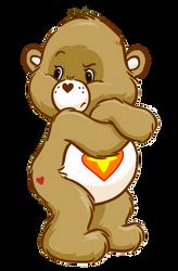 Care Bears: Hefty Heart Gorilla 2D