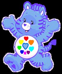 Care Bears: Nimble Heart Zebra 2D