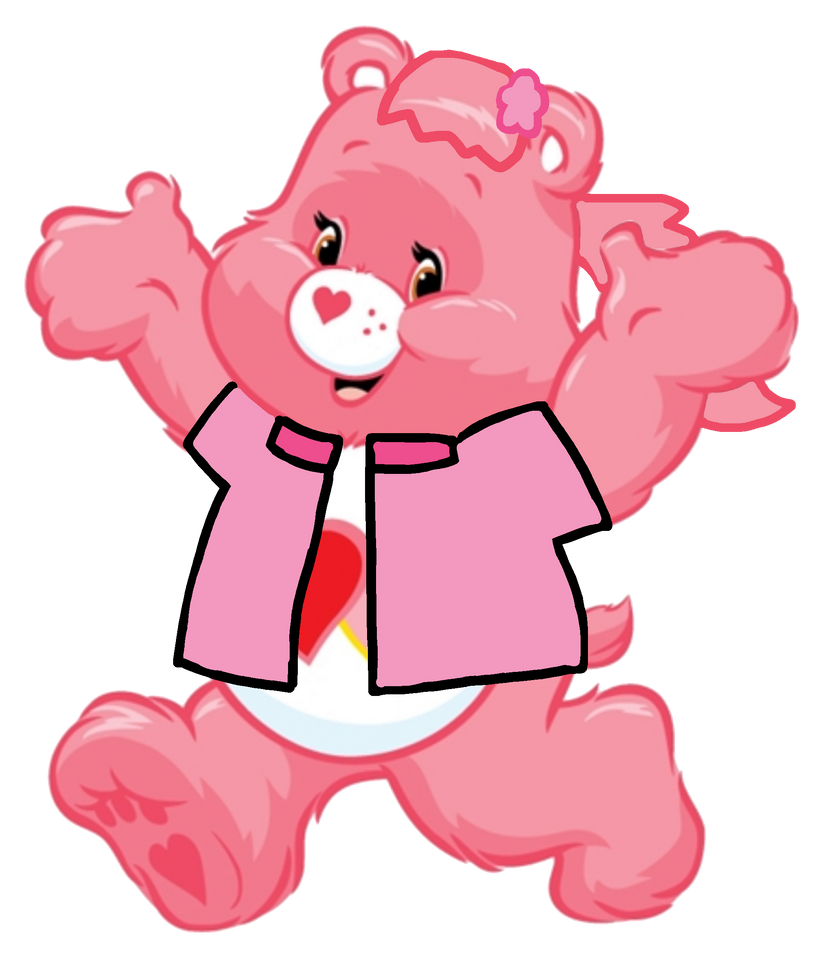 Care Bears: Love a Lot Bear Care Squad Outfit 2D by