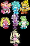 Care Bears Hugtto Pretty Cure