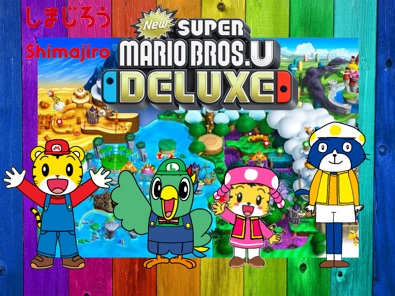 Shimajiro New Super Mario Bros U Deluxe By Joshuat1306 On Deviantart