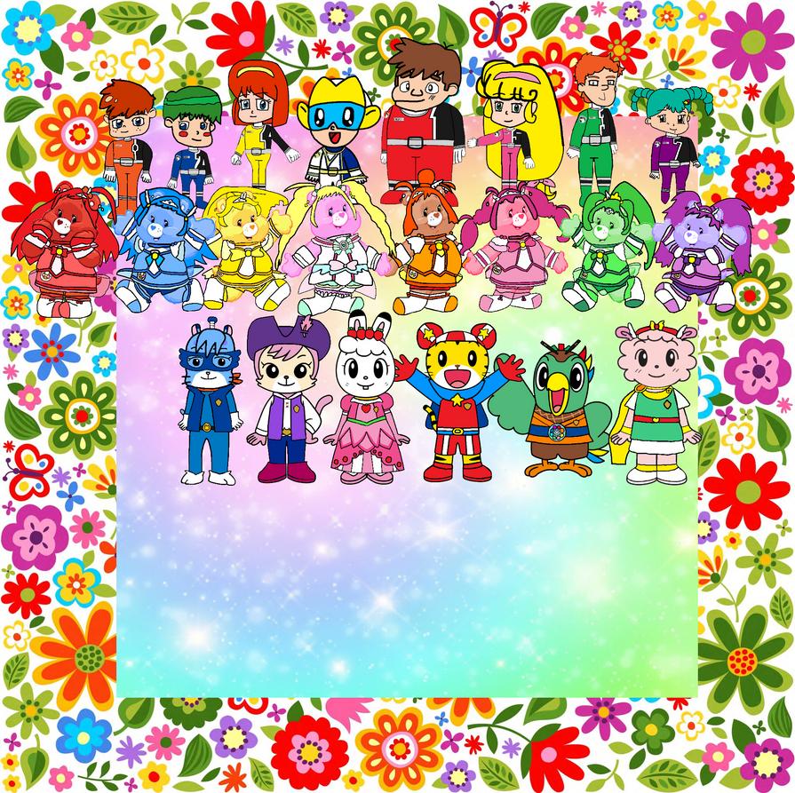Shimajiro and Pals in Hero Day 1