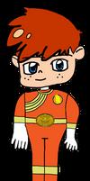 Bobby as Wild Force Orange Ranger