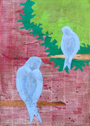Lovebirds 2 Blue