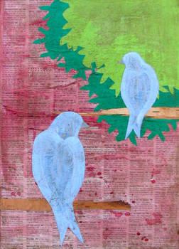 Lovebirds 2 Blue