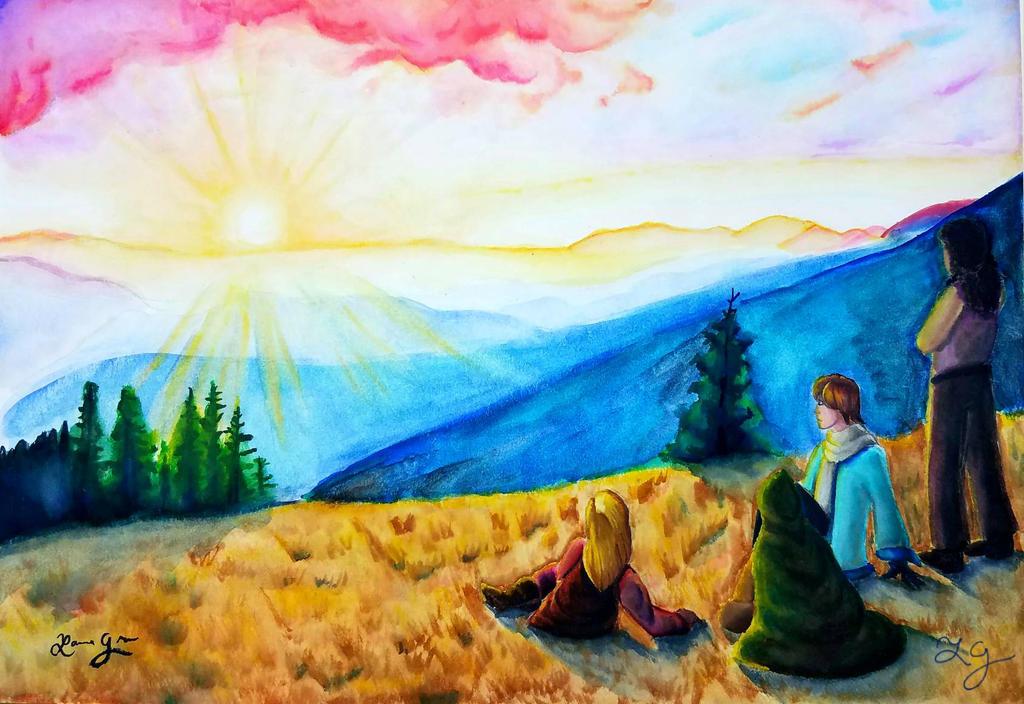 A Beautiful Sunset by Gosh-Heck