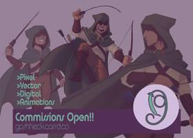 Commissions Open (link in description)