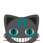 Cheshire Cat Icon by luckiiwolfx