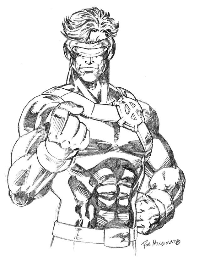 X Men Cyclops Drawings Cyclops pencils by Tro...