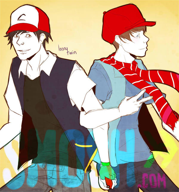 trainer and metrosexual hipster by loonytwin