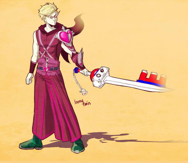 KH-Dirk Strider by loonytwin