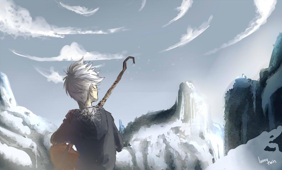snow head boy by loonytwin