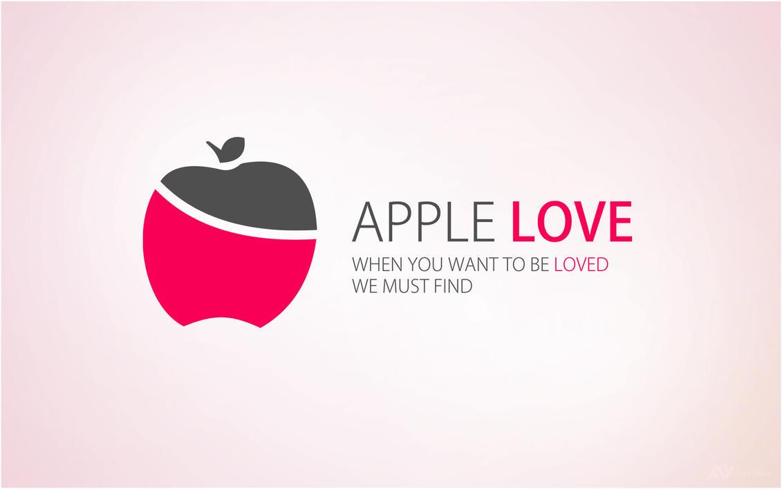 Logo - Apple Love by Art-vibrant