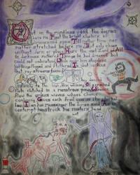 Illuminated Fungi from Yuggoth Sonnet 22 Azathoth by DrizzleDrazzle