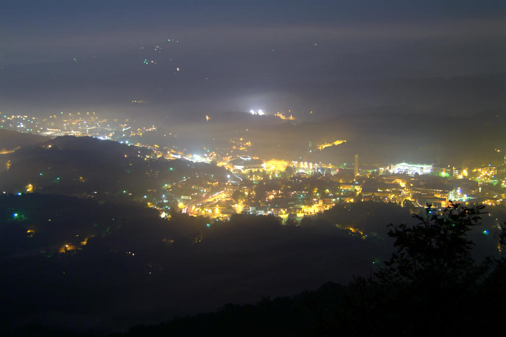 Appalachian at Night by jus10tucker
