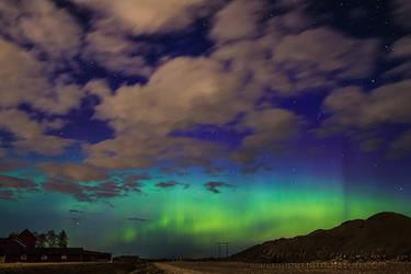Uppsala Northern Lights by linneaphoto