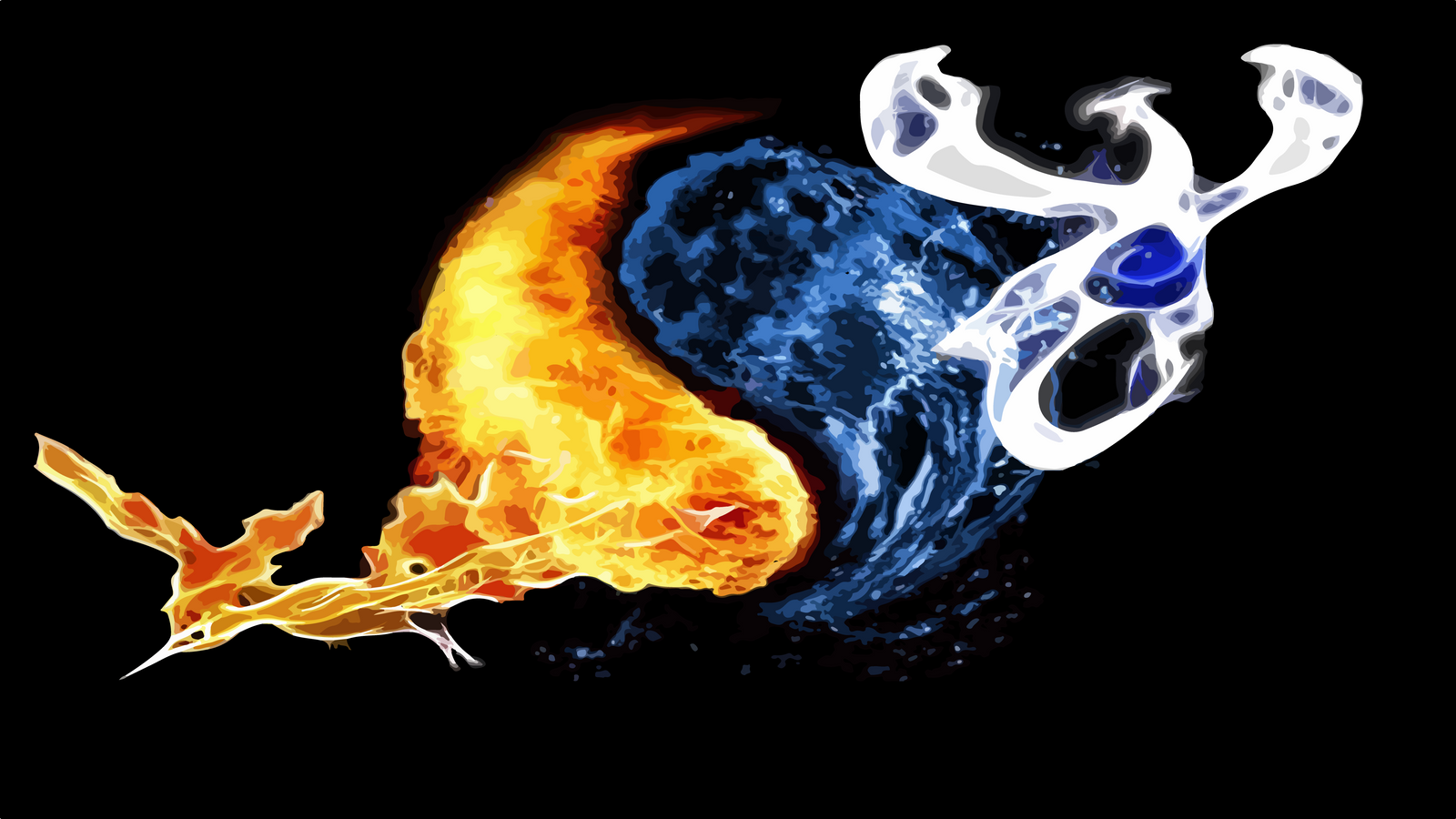 moltres and lugia wallpaper by acastrodesigner on deviantart