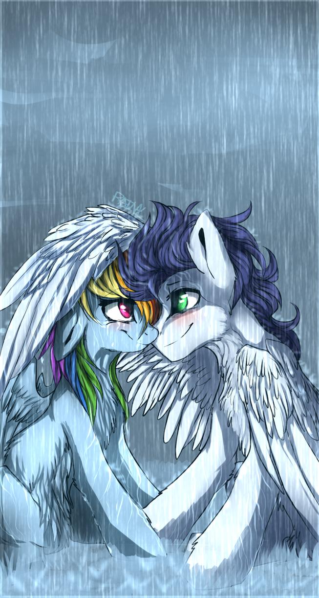 U can stand under my umbrella by RainbowAliona