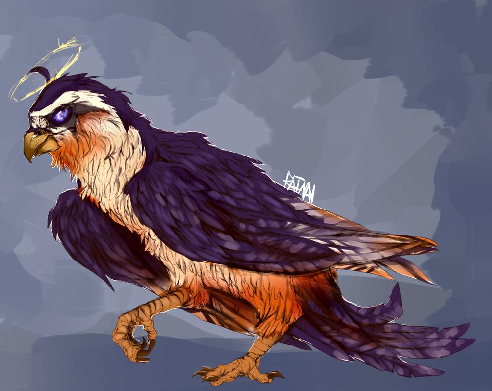 lijesus bird tred! by RainbowAliona