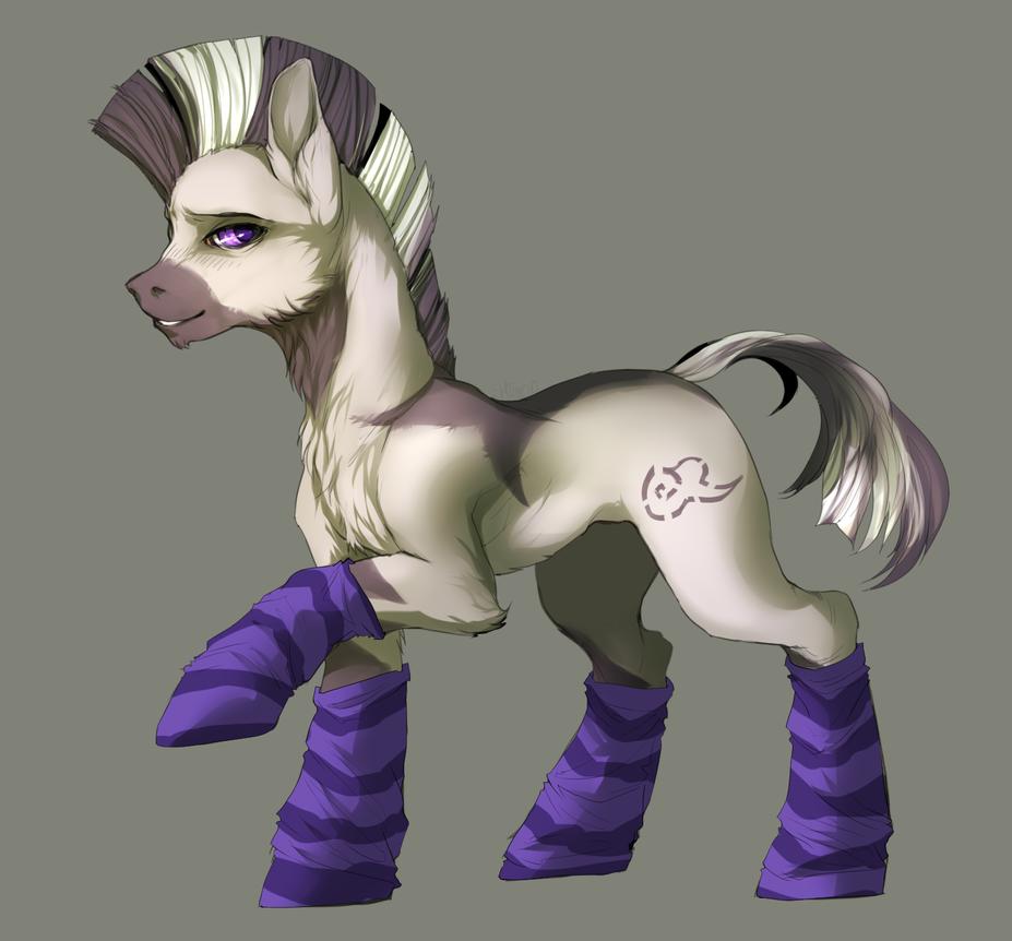 pony commission by Shimruno