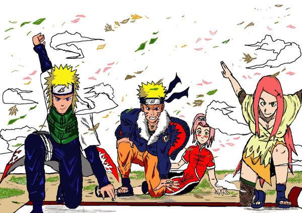 Naruto s Family by AlphaDelta1001Naruten Family