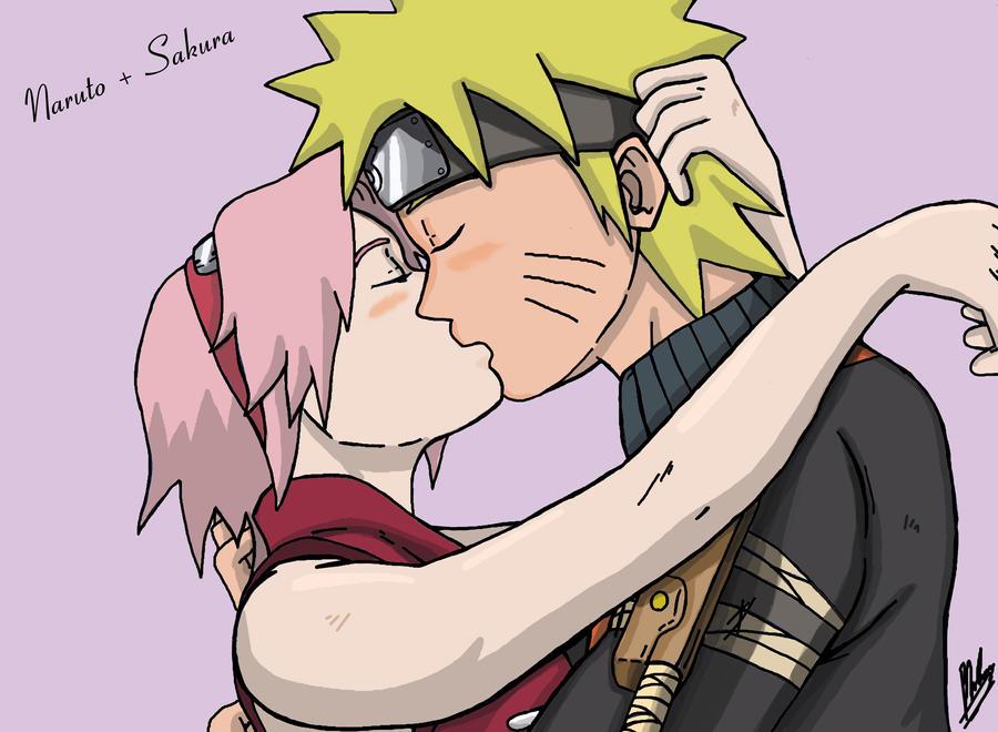 Naruto and Sakura by AlphaDelta1001