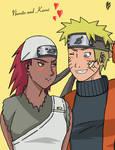 Naruto and Karui